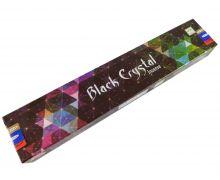 Räucherstäbchen Black Crystal von Satya 15g Packung. Ca. 15 Incence Sticks
