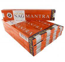 Vijayshree Räucherstäbchen Golden Nag Mantra 12 Packs a 15g