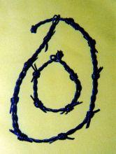 Stacheldraht-Halsband